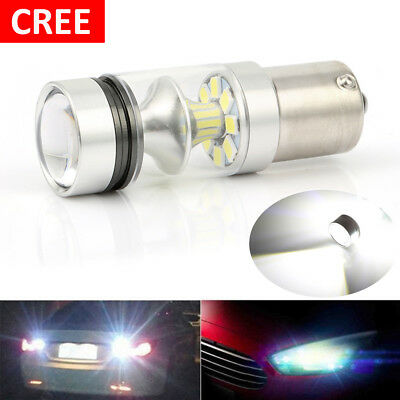 1x CREE XBD 100W 1156 S25 P21W BA15S LED Backup Light Car Reverse Bulb Light Car