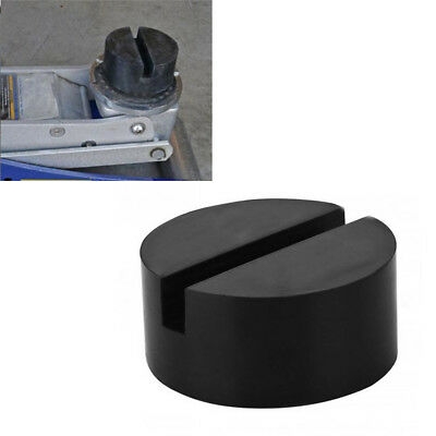 1PCS Universal Floor Jack Pad Slotted Frame Rail Durable Rubber Disk Pad