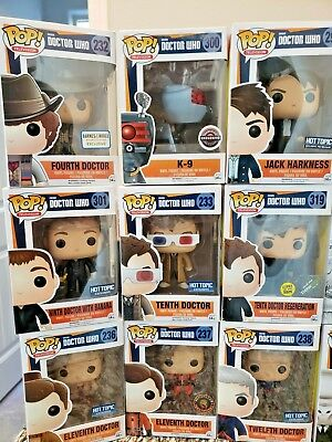Funko Pop! Television DOCTOR WHO Exclusives GID vaulted retired