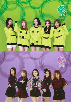 BUSTERS [GRAPES] 2nd Single Album RANDOM Ver. CD+Photo Book+2p Photo Card SEALED