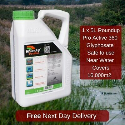 Roundup Pro Active Super Strong Industrial Weed Killer Use In Around Water