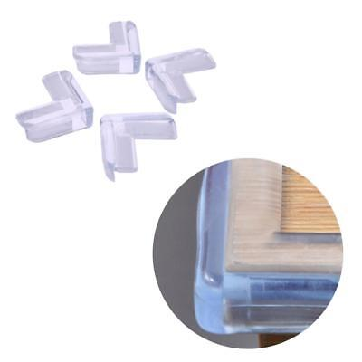 4pcs Kids Baby Safety Transparent Table Corner Edge Protector Cover Good Guards