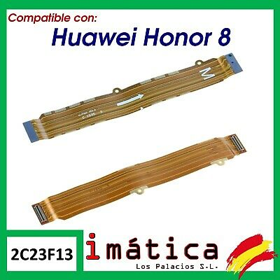 Cable Flex Principal Para Huawei Honor 8 Lcd Placa Base Conector Carga