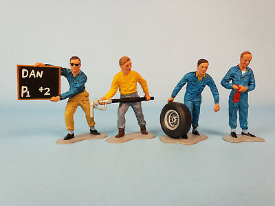 MRRC Vintage PITCREW FIGURES MC-5090 Figur Mechaniker Slotcar 1:32 Carrera