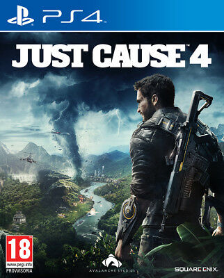 Videogioco PS4 Just Cause 4 Nuovo Originale Italiano per Sony PlayStation 4