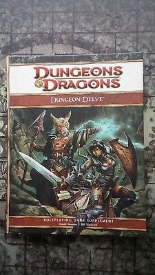 DUNGEON DELVE - Dungeons & Dragons 4th Edition D&D Supplement