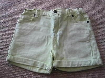 Gorgeous Girls Pale Lime Green Shorts Size 7