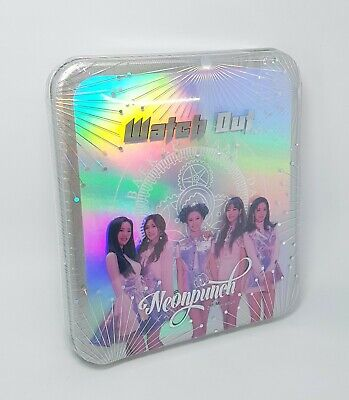 K-POP NeonPunch 2nd Mini Album - [Watch out] CD + Booklet Sealed