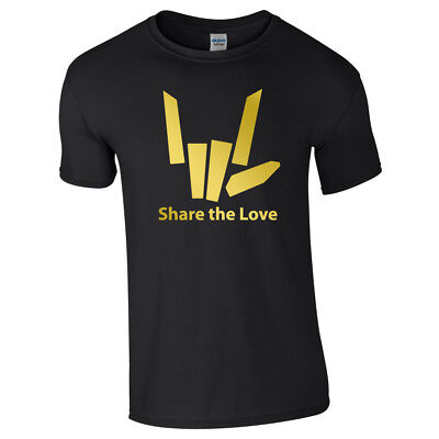 SHARE THE LOVE Tshirt Tee Top Youtuber Youtube Adults Kids