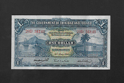 Stock clearance! Space filler or for beginners! 1 dollar 1942 TRINIDAD & TOBAGO