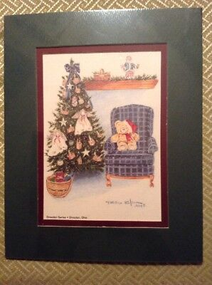 Longaberger Dresden Series Christmas Print 1994 By Phillip Wilson