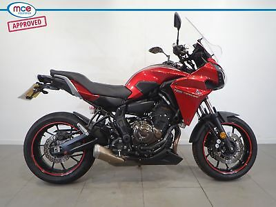 2017 Yamaha Mt-07 Tracer Red