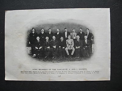 Members Of  The  Bangalow A & I Society 1918