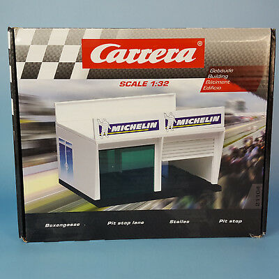 Carrera Digital 132 Evolution 21104 Boxengasse Box Garage Pit Stop 1:32 NEU OVP