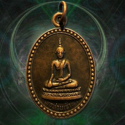 Buddha Jaofah Thai Amulets Of Prosperity Holy Fetish Pendant Powerful,wealth