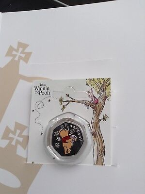 pure silver pooh coins mint condition limited edition only 5000 made 2forsale