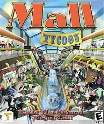 Global Star Computer Game Mall Tycoon - Build the Ultimate Mega Mall! Box NM