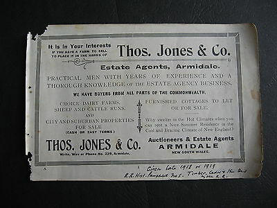 Thomas Jones & Co Auctioneers Armidale NSW
