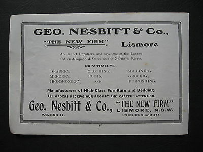 George Nesbitt & Co The New Firm Lismore
