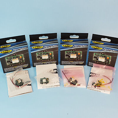 4x Carson 500707130 Digital Plug Decoder für Scalextric auf Carrera Digital 132