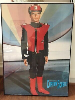 Captain Scarlet Framed picture