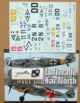 Luftwaffe over the Far North Pt I, TopColors,  ENGLISH!  Decals!!
