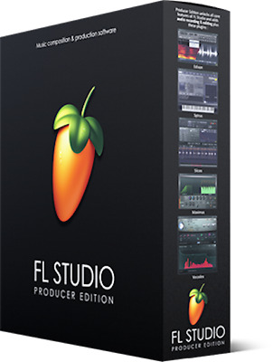 Image Line FL Studio 20 Producer PC DAW FREE Updates for Life -  Boxed
