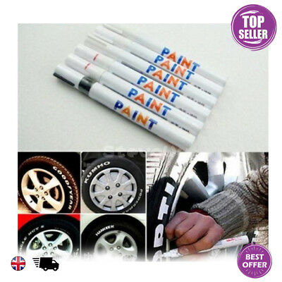 Permanent Universal Oil Paint Marker Pen For Glass Metal Rubber Tyres Bin Number