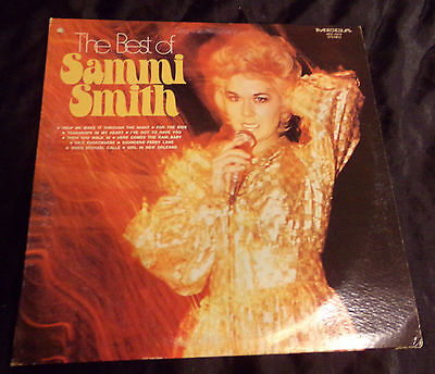 Vtg 1972 The Best Of Sammi Smith Mega Records M31-1019 Album Record LP