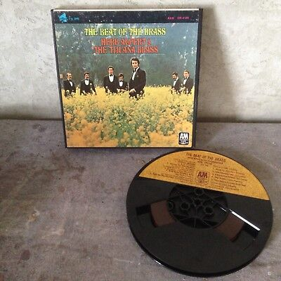Herb Alpert and The Tijuana Brass Reel To Reel THE BEAT OF THE BRASS tested