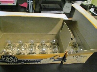 BGB BGK EXCITER  GE LAMPS BULBS Lot of 13 units