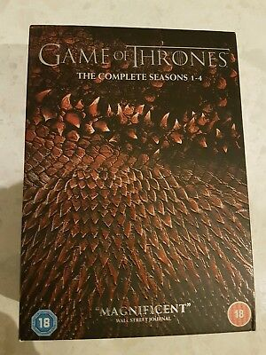Game Of Thrones complete seasons 1-4
