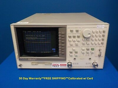 Agilent HP Keysight 8753D Network Analyzer 300 kHz to 3 GHz