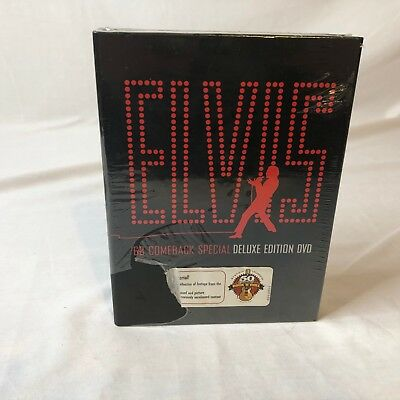 Elvis: The '68 Comeback Special (3 DVD Deluxe Edition) Rare New Other