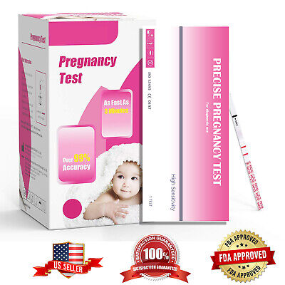5-50 Pics HCG Early Pregnancy Urine Test Strips Kit Stick Home one Step Accurate