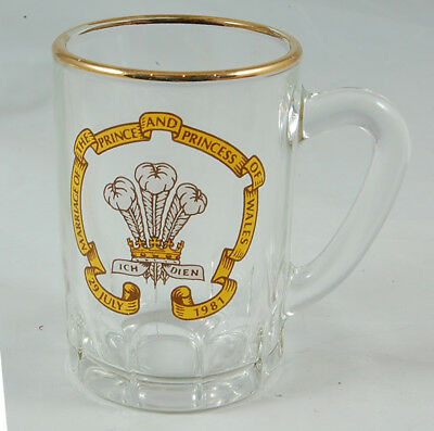 TWO Miniature Tankards Commemorating the Royal Wedding 1981