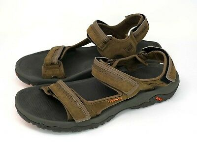 bf2ae1a60ee TEVA Hudson Hiking Walking Water Sandals 1002433 Adjustable Shoes Men s Sz  12M