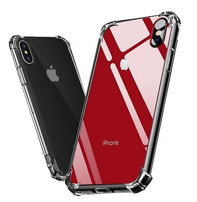 Hybrid Shockproof Clear Soft TPU Air Bumper Back Cover Fits Iphone XR Case