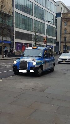 London Taxi Tx4 Style Manchester Cab And Plate For Sale