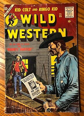 Wild Western #55 (May 1957, Marvel).  Williamson art!