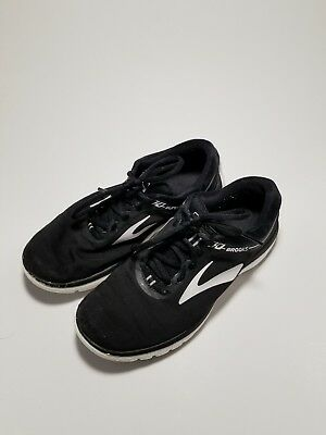 0135e3323e6 BROOKS PUREFLOW 6 Running Shoes - Women s Size 10 B - Black  Repair ...