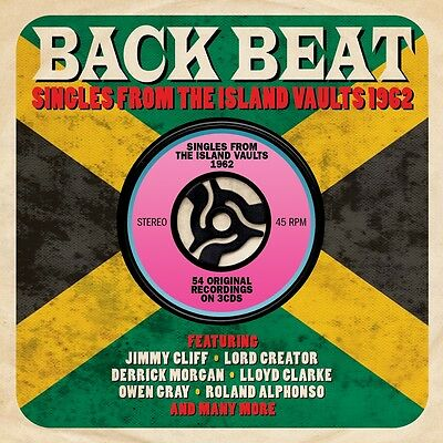 Back Beat - Singles From The Island Vaults 1962 - Rare Reggae/Ska 3CD NEW/SEALED