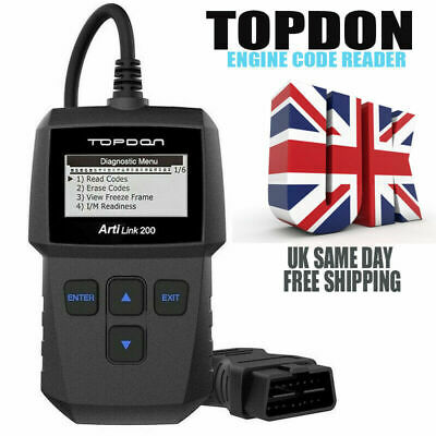 FORD KA CAR Diagnostic Code Reader Fault Reset Tool TD309