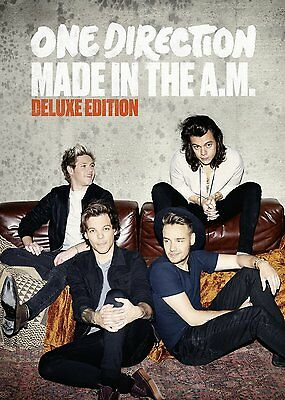 Made in the A.M. [Deluxe Edition] by One Direction (UK) (CD, Nov-2015,cd book