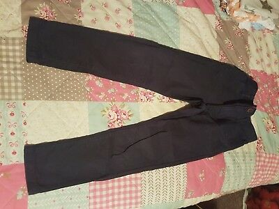 new without tags boys george trousers 6-7 years blue