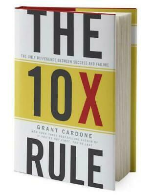 The 10X Rule: The Only Difference Between Success and Failure Digital Books