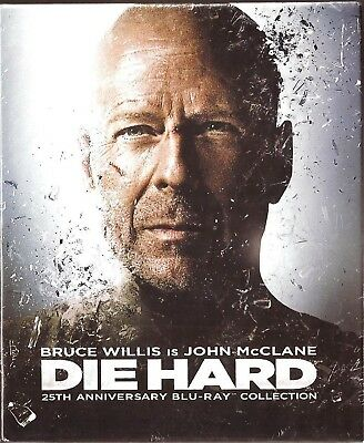 Die Hard: Blu-Ray [ 25th Anniversary Collection ] 5-Disc Set, 4 Movie Collection