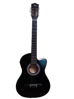 Sky Electro Acoustic 6 String Guitar with Case