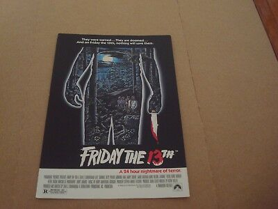 Jason Voorhees / Friday The 13Th: Postcard - 1