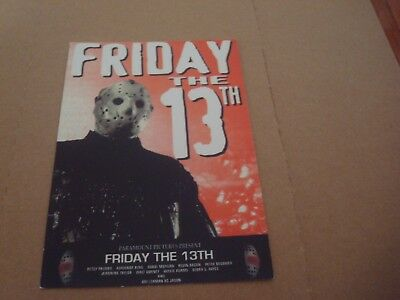 Jason Voorhees / Friday The 13Th: Postcard - 2